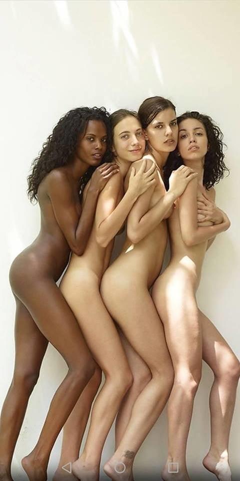 Naked girls posing together, jailbait gallery cum dumpster