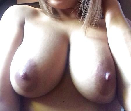 Big and bouncy - my slag has big tits