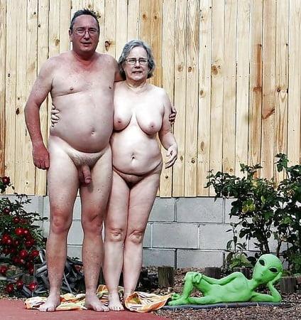 Nackte Paare