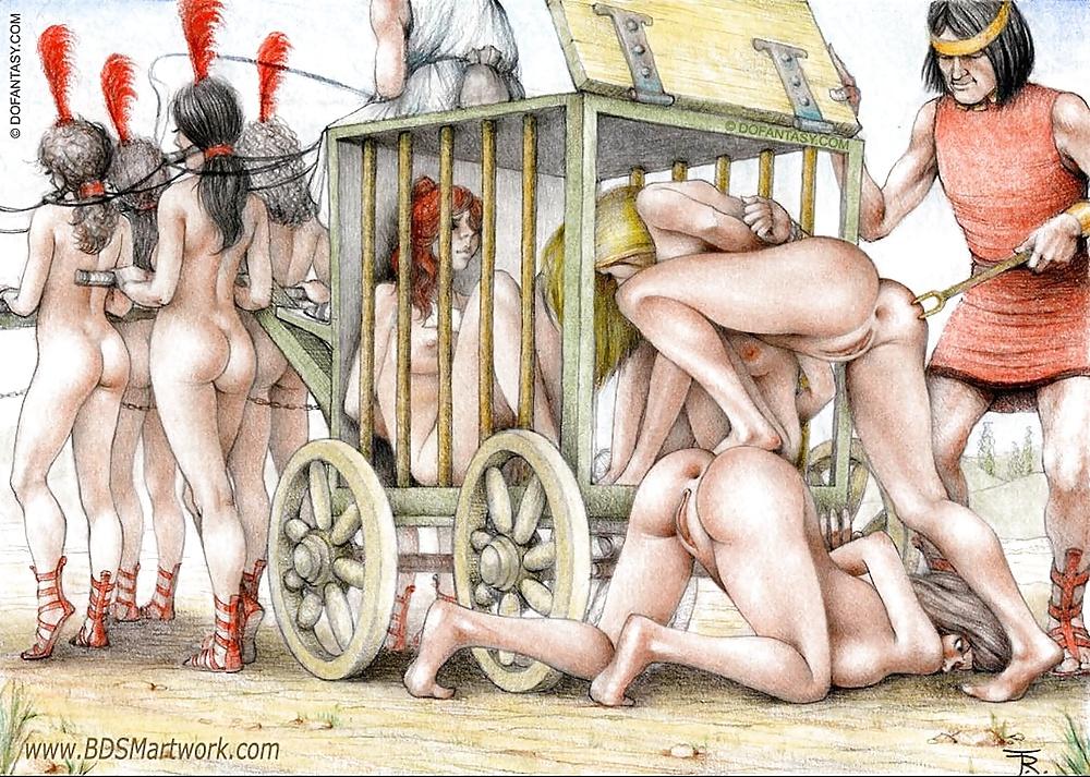 Трахают рабынь в древности смотреть онлайн, лесби ебля с замужней
