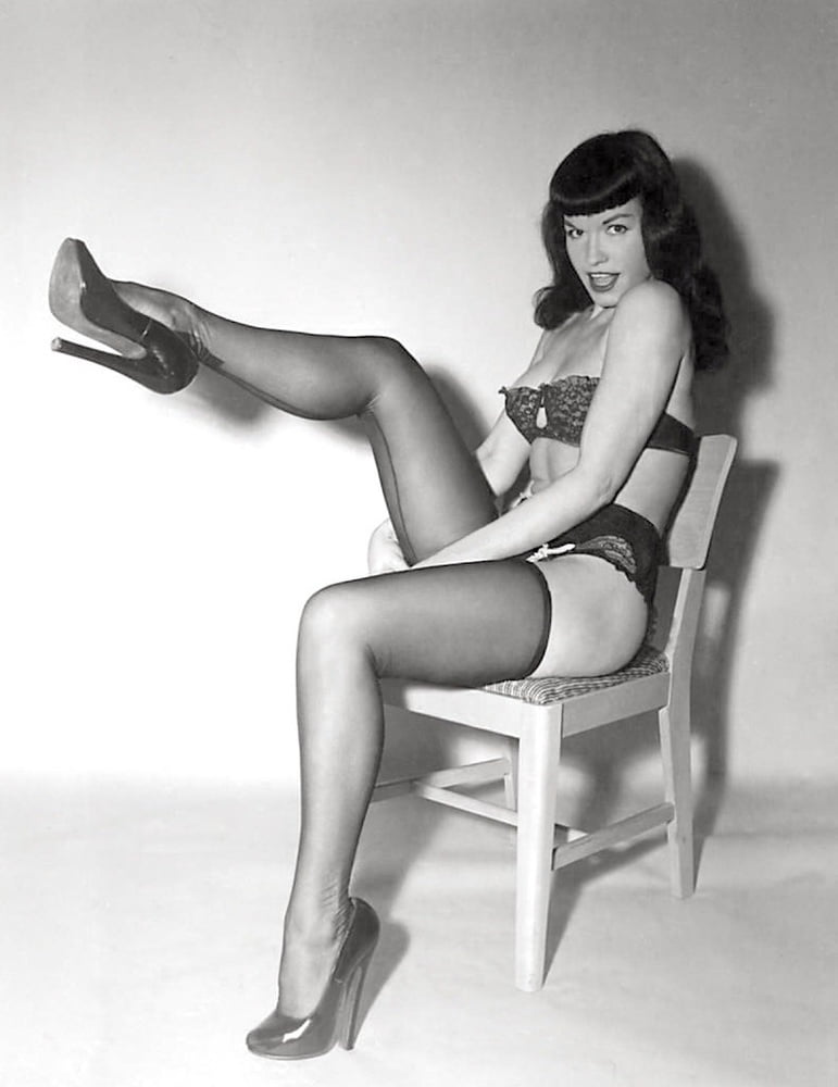 Cage girdle by bettie page