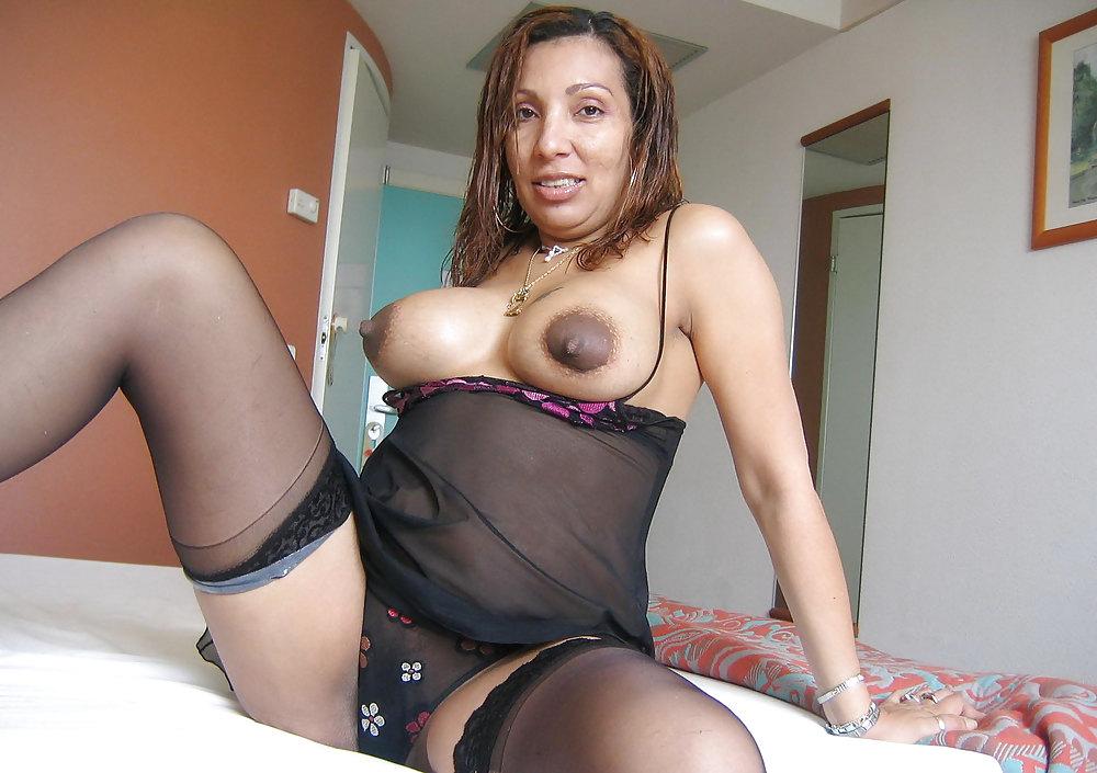 Mature hispanic woman stock photos