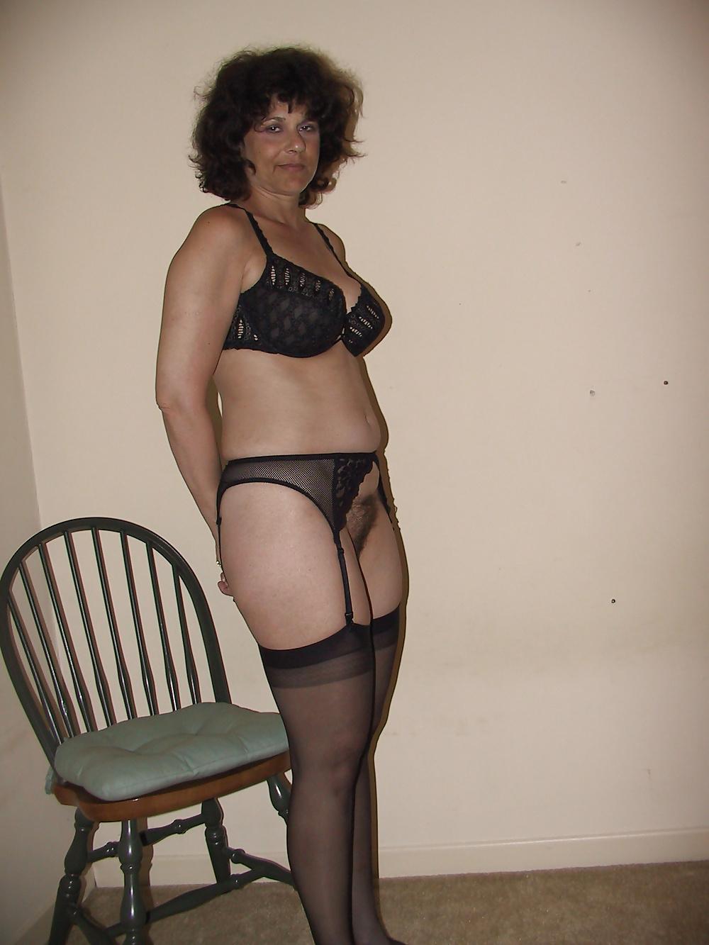 Sexy black lingerie dress-3857