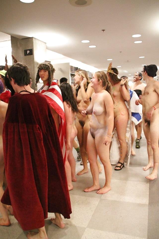 Petite Naked University Girl