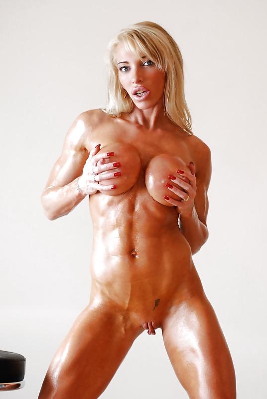 Blonde female bodybuilder pictures webcam adult — pic 6