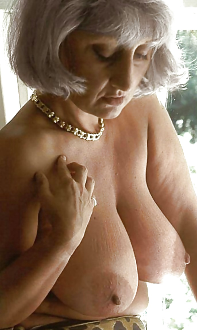 Grandmother with big breast nude 10