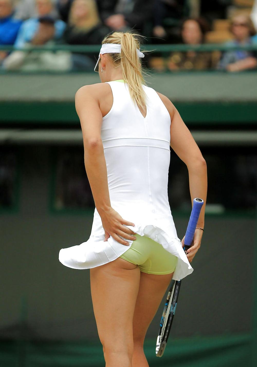 Теннисистки светят трусиками фото — photo 6