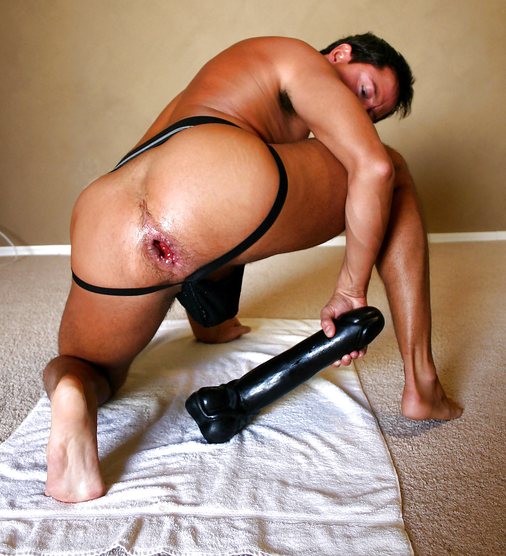 Man Getting Dildo In The Ass