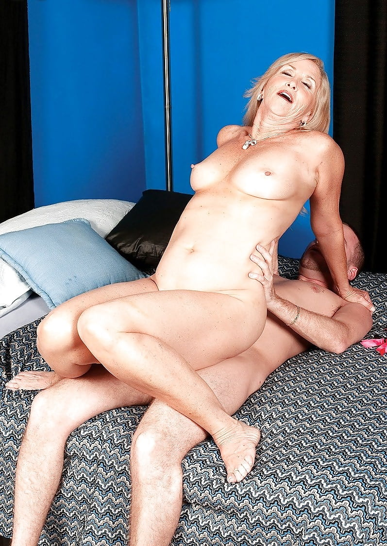 Threesome mature and young