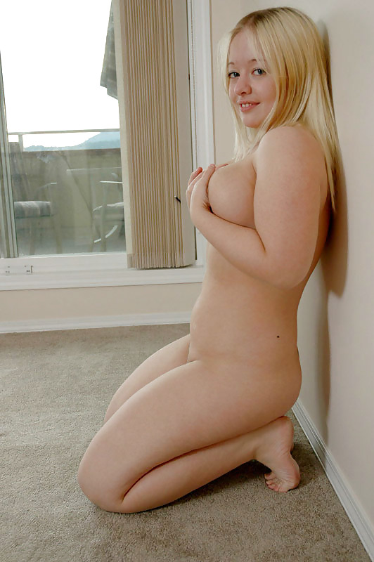 Fat blonde naked