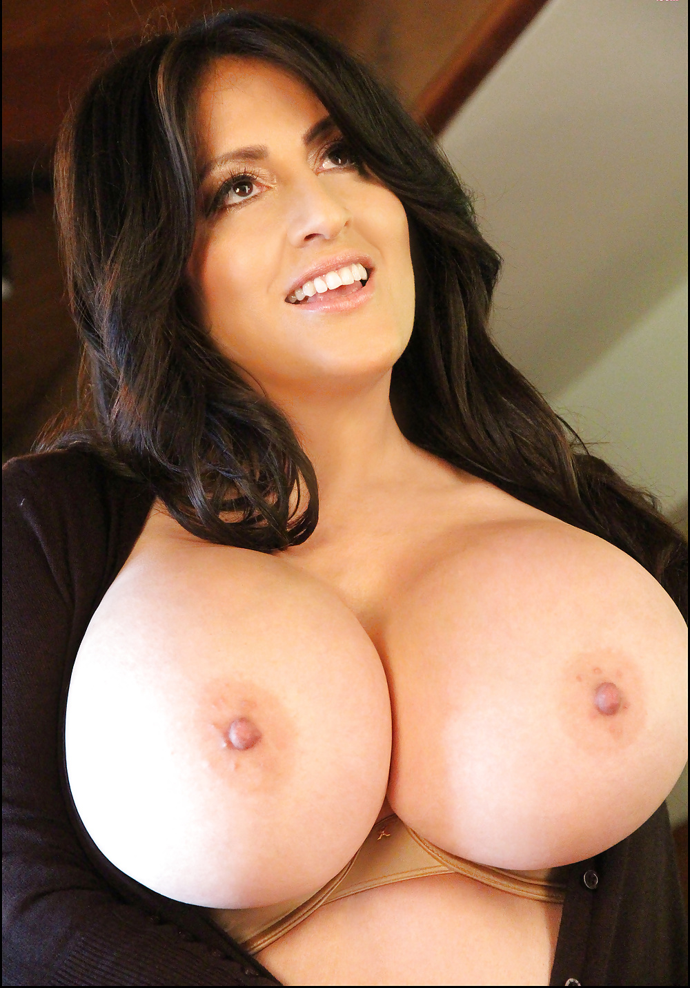 Big tits round address