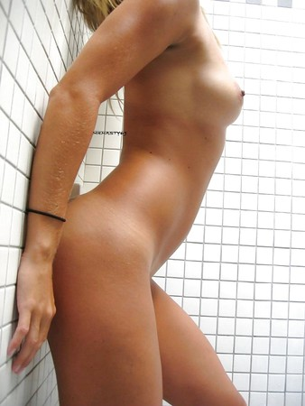 Hot  Sexy Wife Plays With Her Pussy In The BathRoom