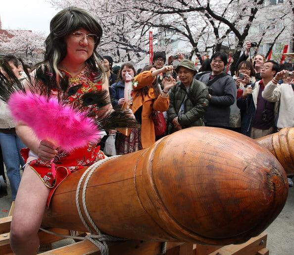 Japanese penis festival in kawasaki