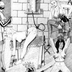BDSM & Bondage Artworks Comics 2