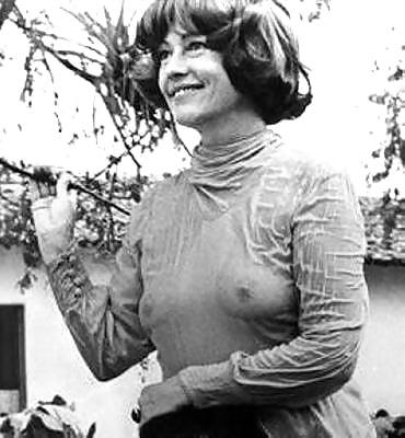 Jeanne Moreau  nackt
