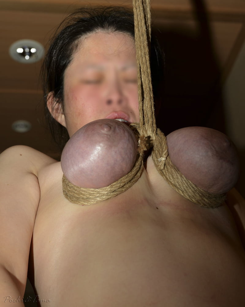 Lactating tit bondage photos