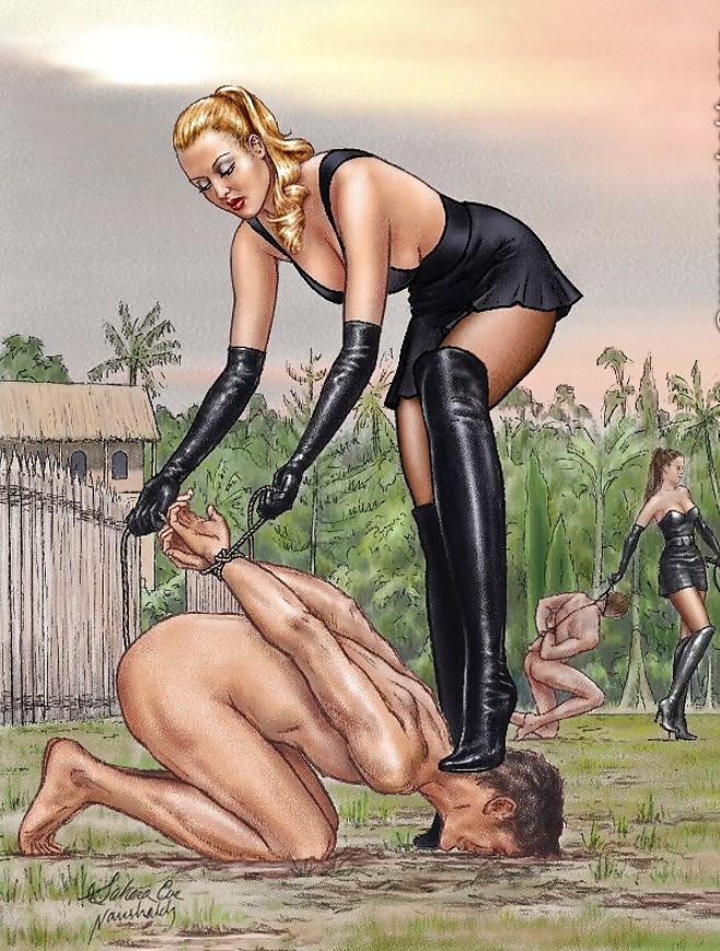 Sklave Femdom