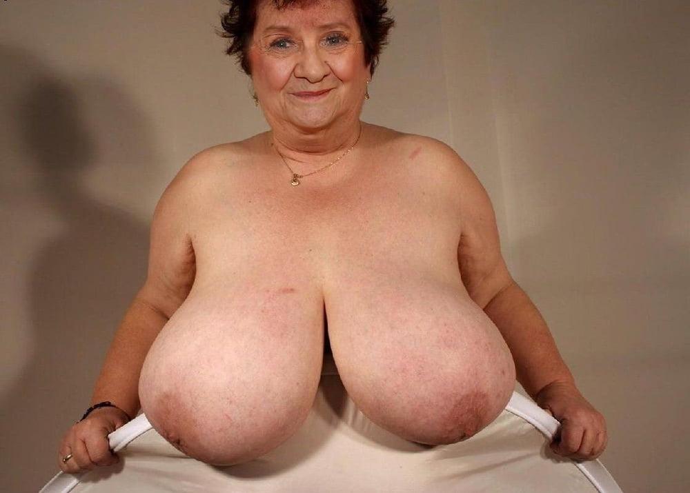 Huge busty grandma