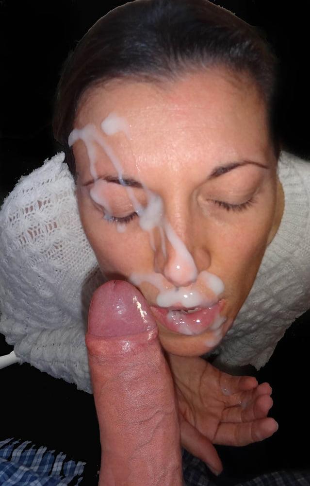Фитнес инструктор фото спермы на девичьих мордашках пизды