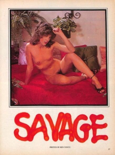 Becky Savage  nackt