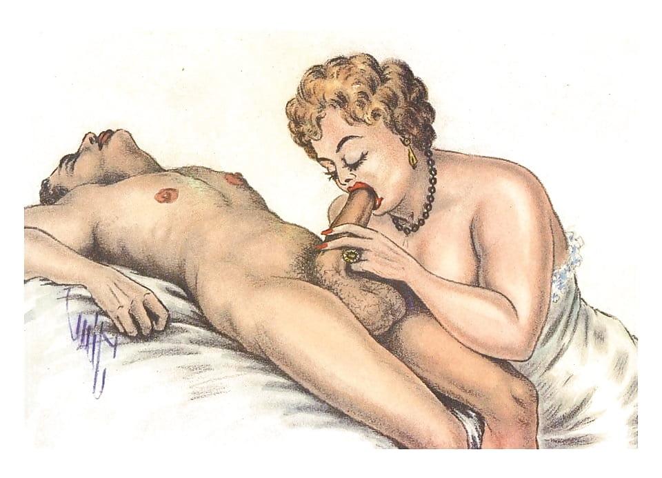 красивые порно рисунки ретро и новые может