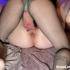 Creampie Deep In Chubby Hairy Pussy
