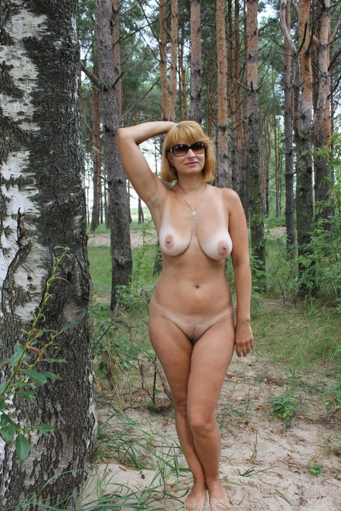 Nature mom naked