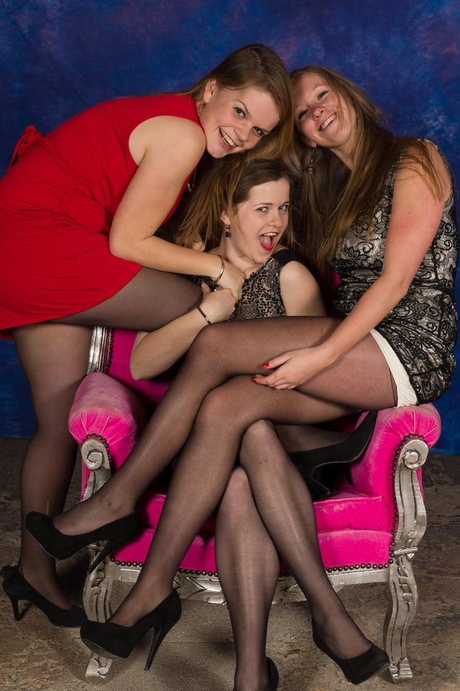 Students posing pantyhose, nued women porn sex