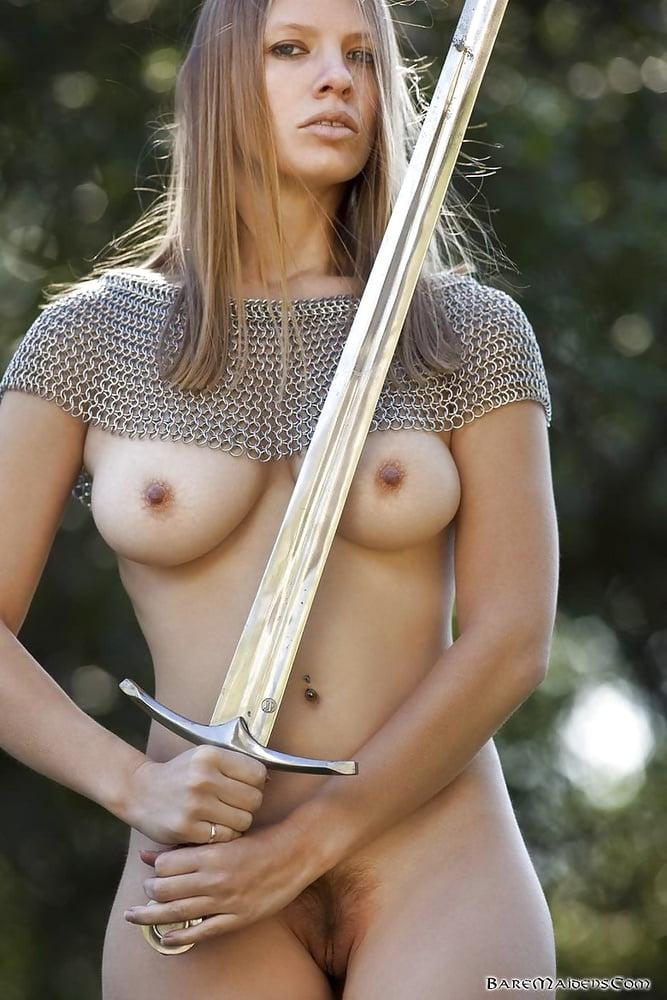 Nude Fantasy Art Girl Warriors