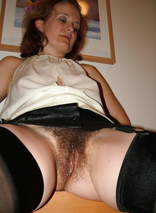 Hairy bush stockings upskirttures 7