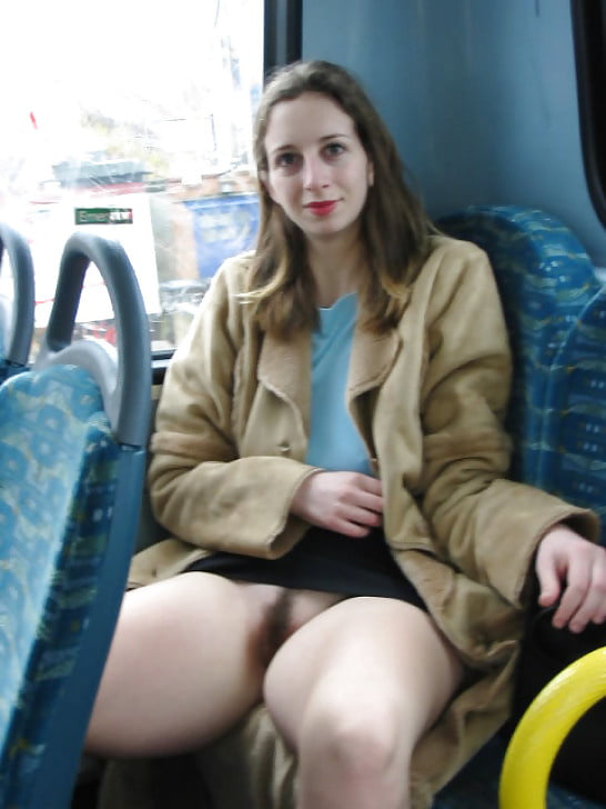 В маршрутке девушка в короткой юбке без трусиков, забавные соревнования порно