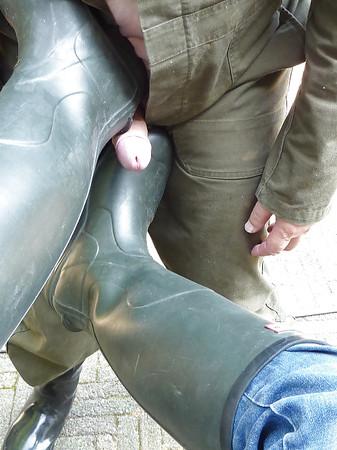 Boots porn rubber MATURE BOOTS