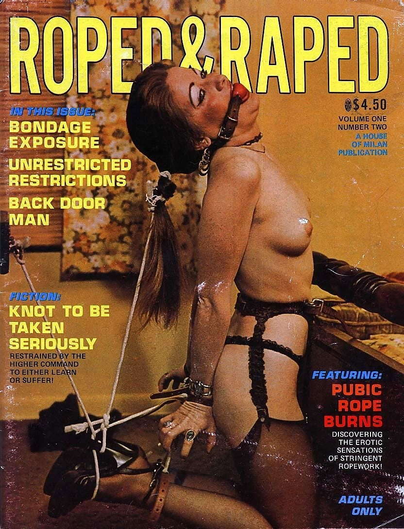 Old Bondage Magazine Cover