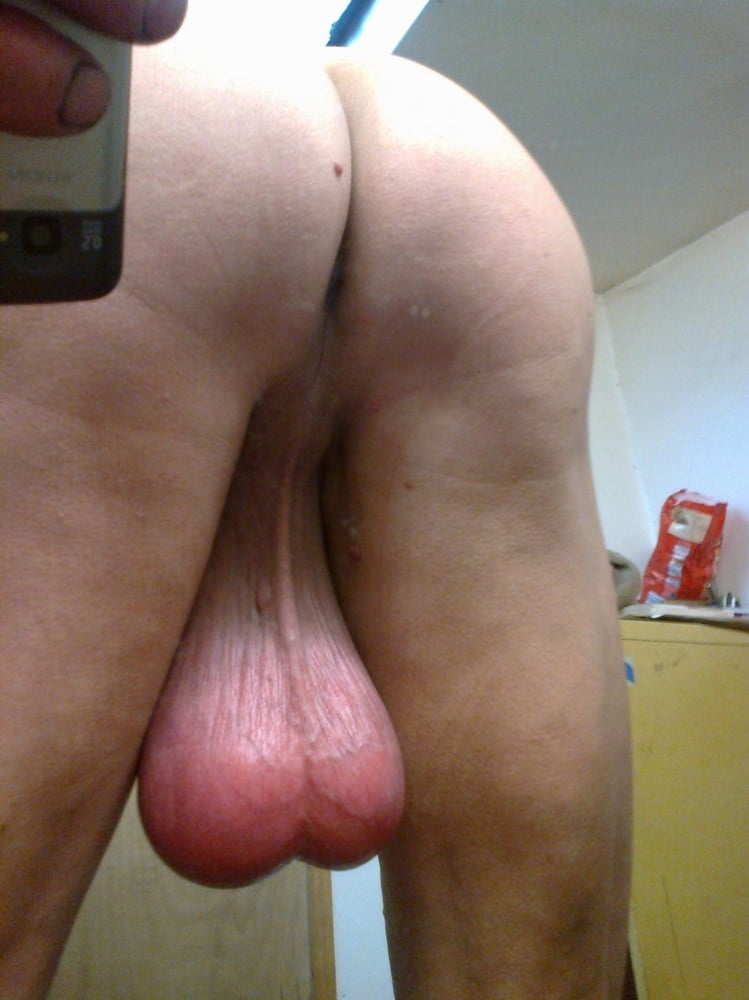 Giant cock dangling