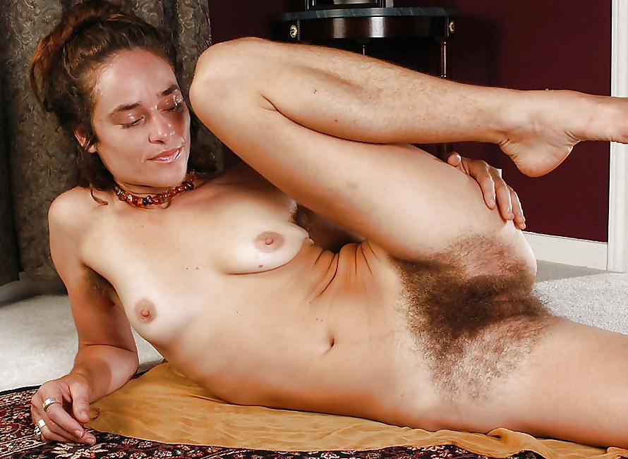 Naked girls with hairy pussy having sex