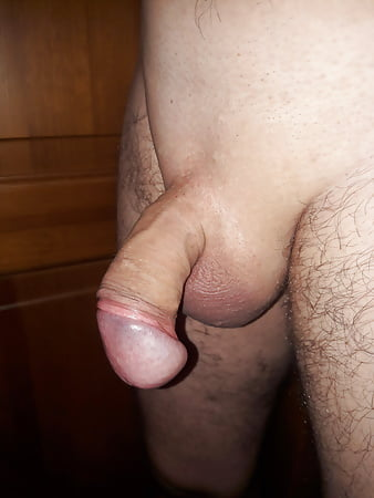 Shave cock and ball play