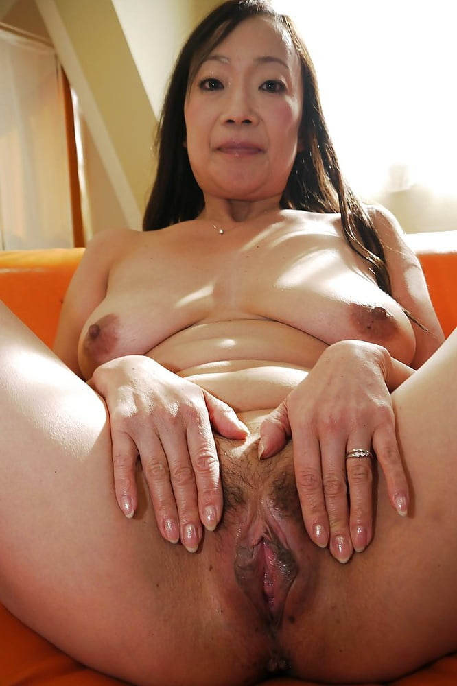 Japanese Mature Housewife Pussy