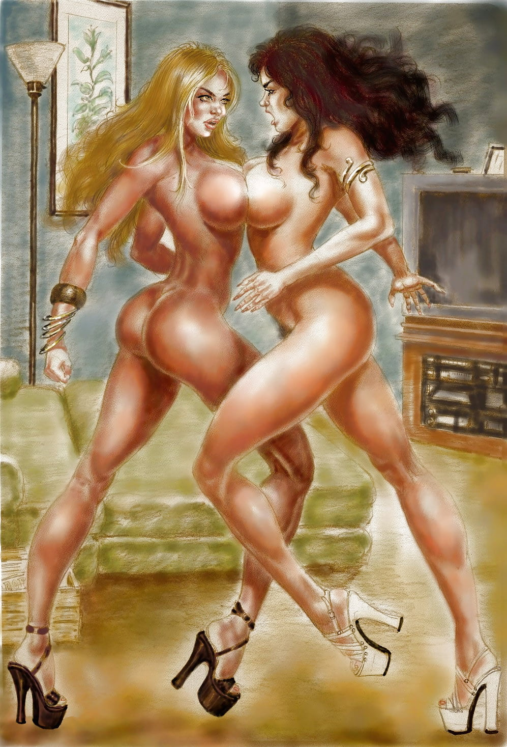 Free Cartoon Sex And Cartoon Porn Pictures Full Of Wild Sexy Cartoons