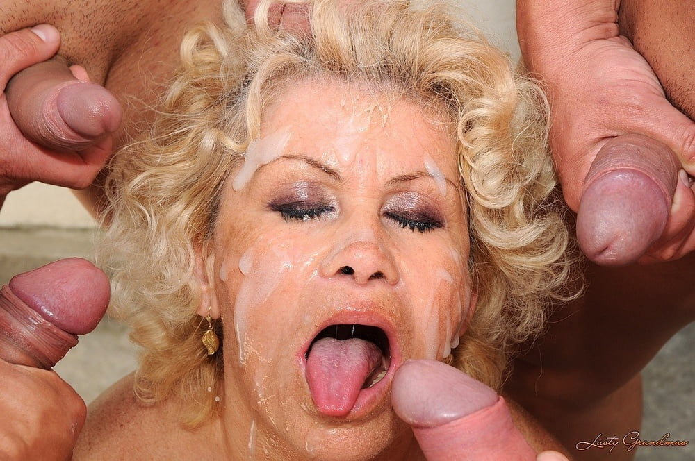 Xxx grandma group facial — pic 7