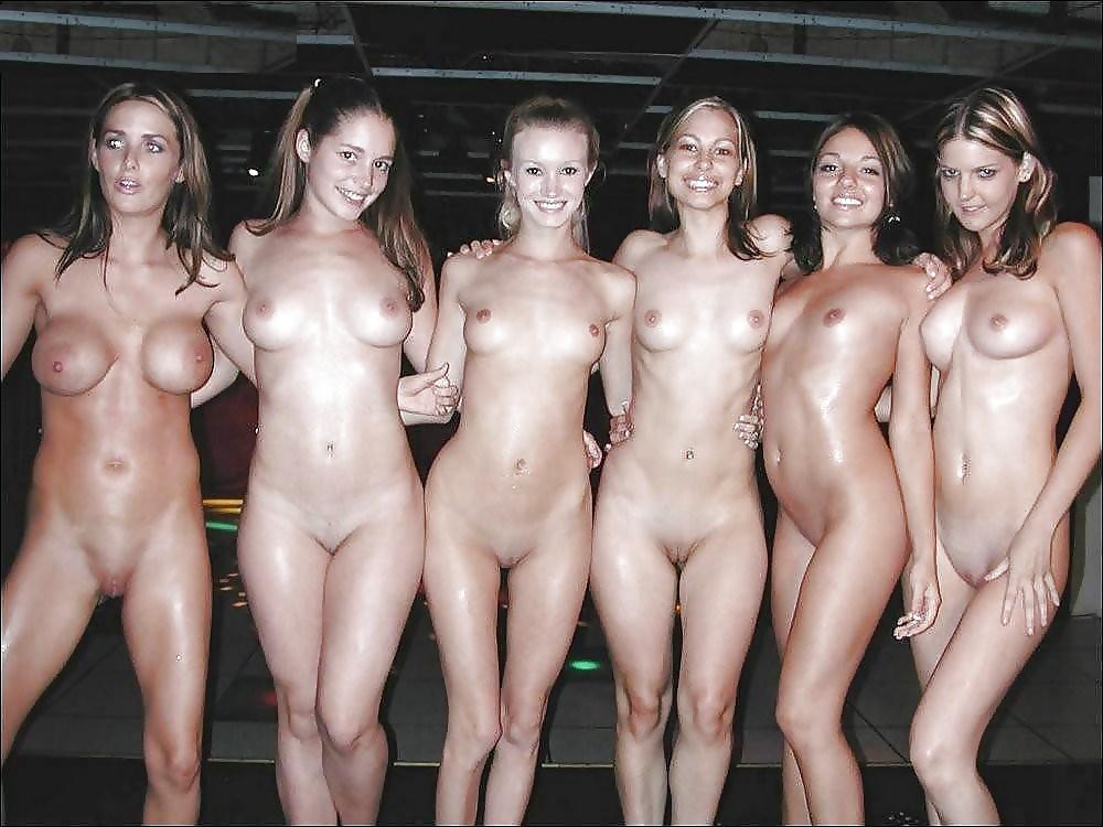 Mature nude line up