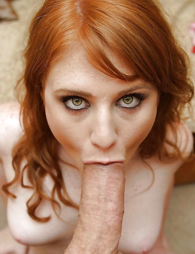 Milk cum blowjob photo redhead erotic girl