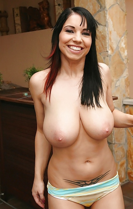 Naked women with natural breasts