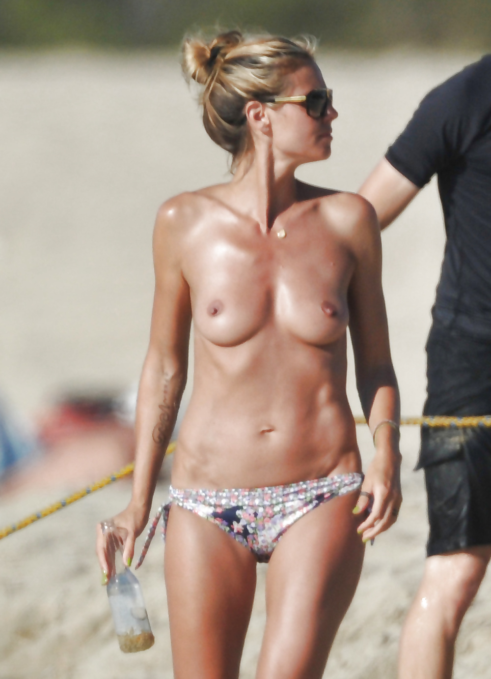 Heidi klum fully naked