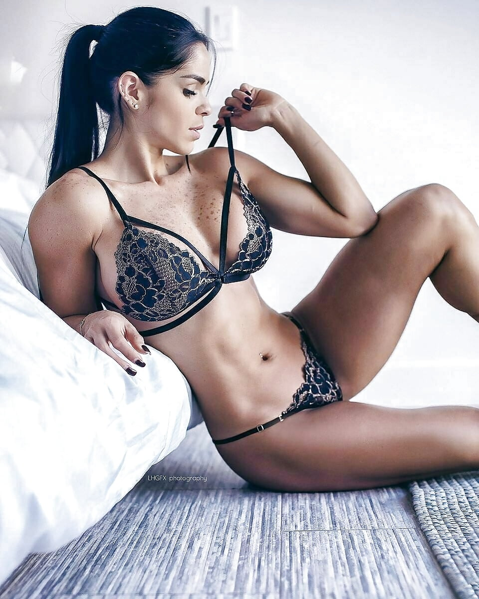 Bodybuilding, motivation and sexy fitness girls