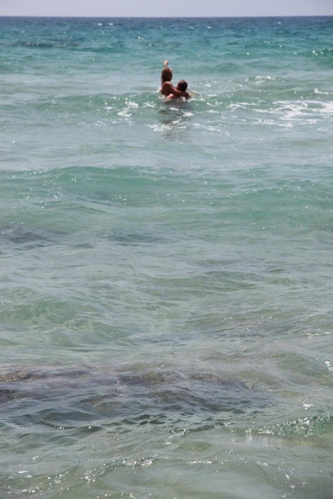 Naked beaches of europe
