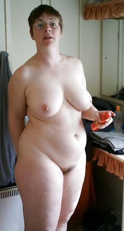 Mature pendulous breasts