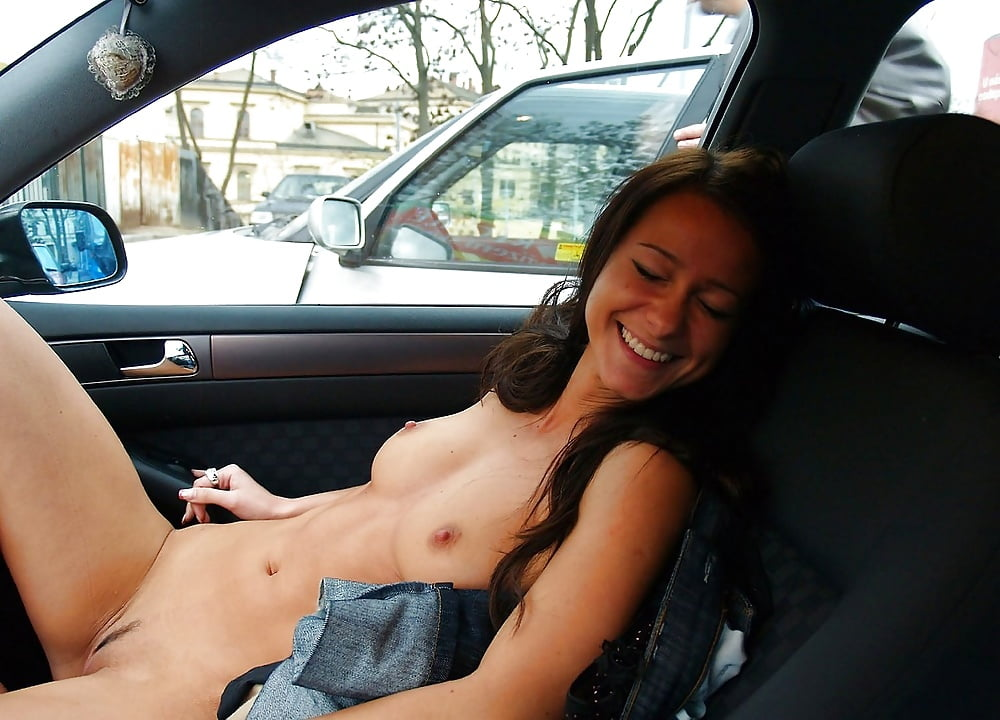 Car stuck girls naked 14