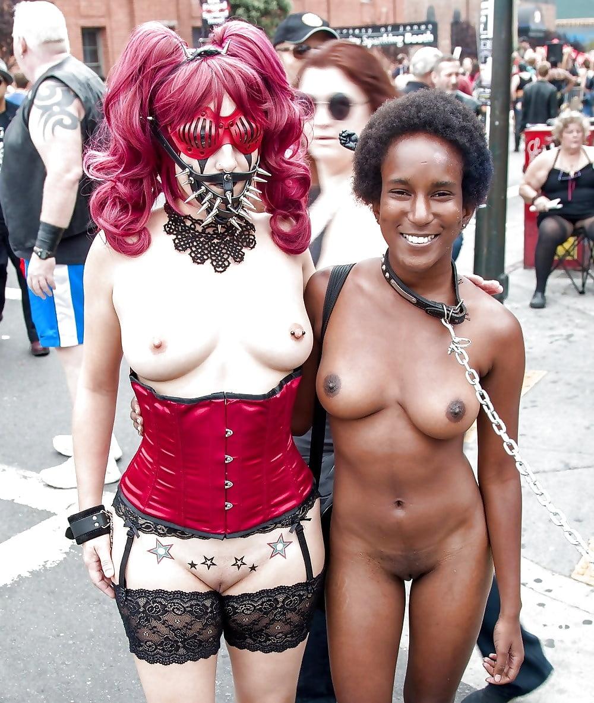 Naked women folsom street