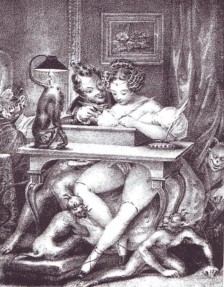 эротика в старинных гравюрах и рисунках смотреть развернулась