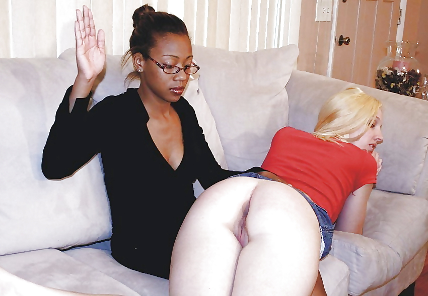 Black girls spanked hard